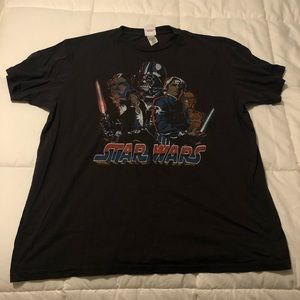 Vintage junk food t shirt - Star Wars